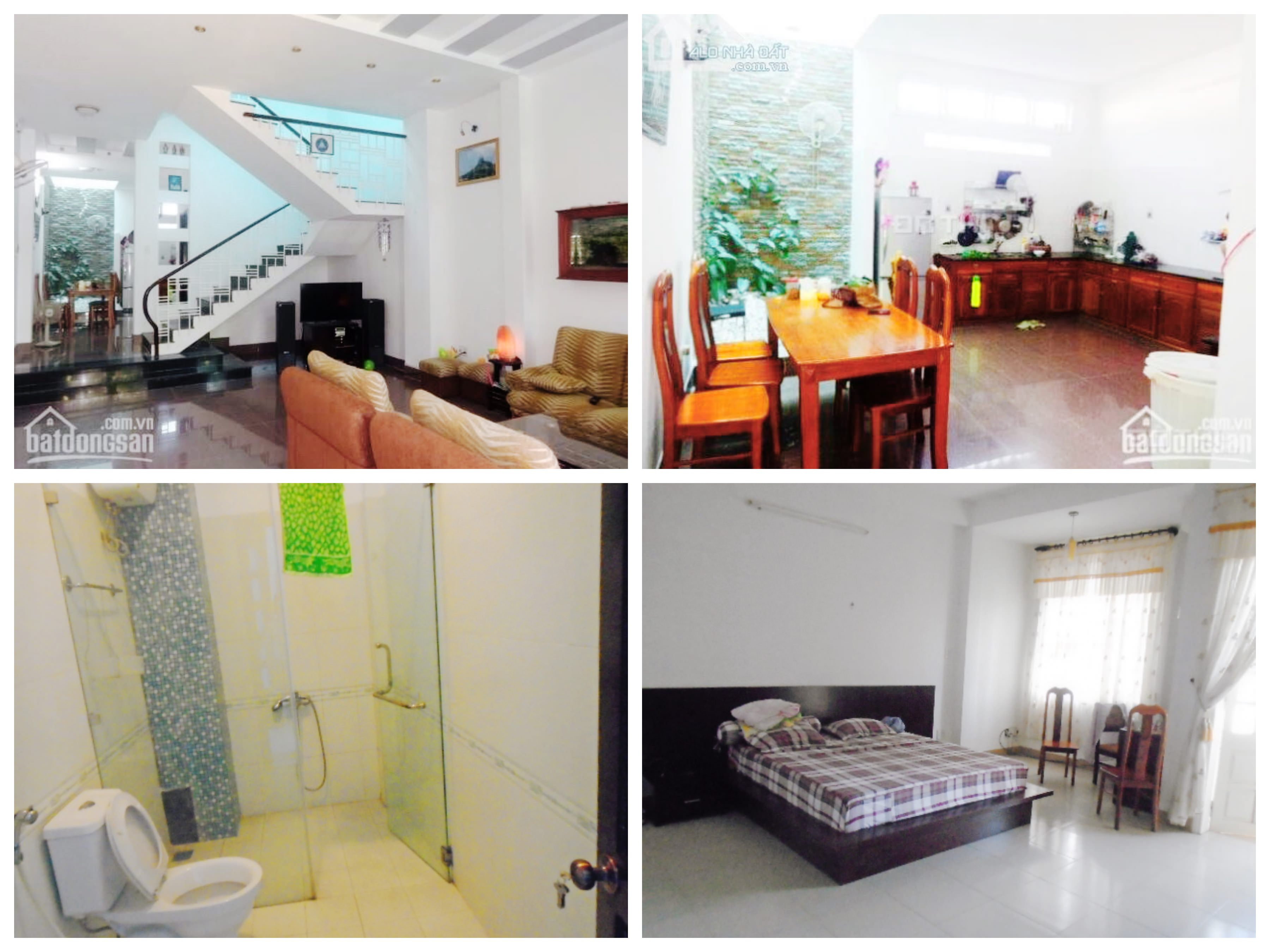House for rent with 4 bedrooms at the price 14 million dongs, near My Khe beach