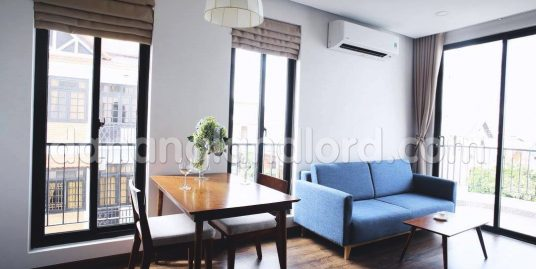Beautiful studio apartment with balcony near My An Beach – A44A