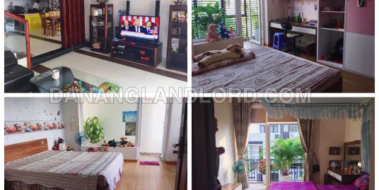 The beautiful house with three bedrooms in Ha Huy Tap area