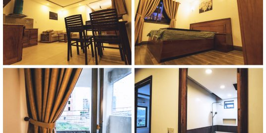 One bedroom apartment for rent in An Thuong area, big balcony