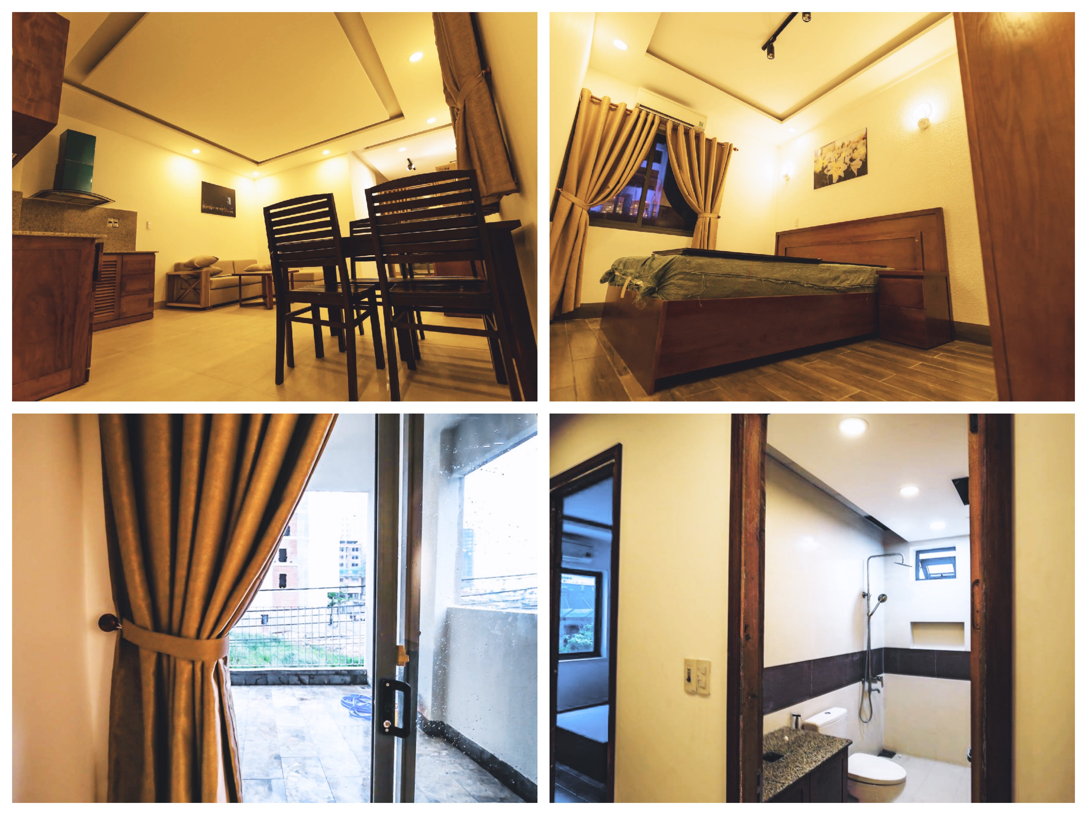 New one bedroom apartment with balcony in An Thượng area