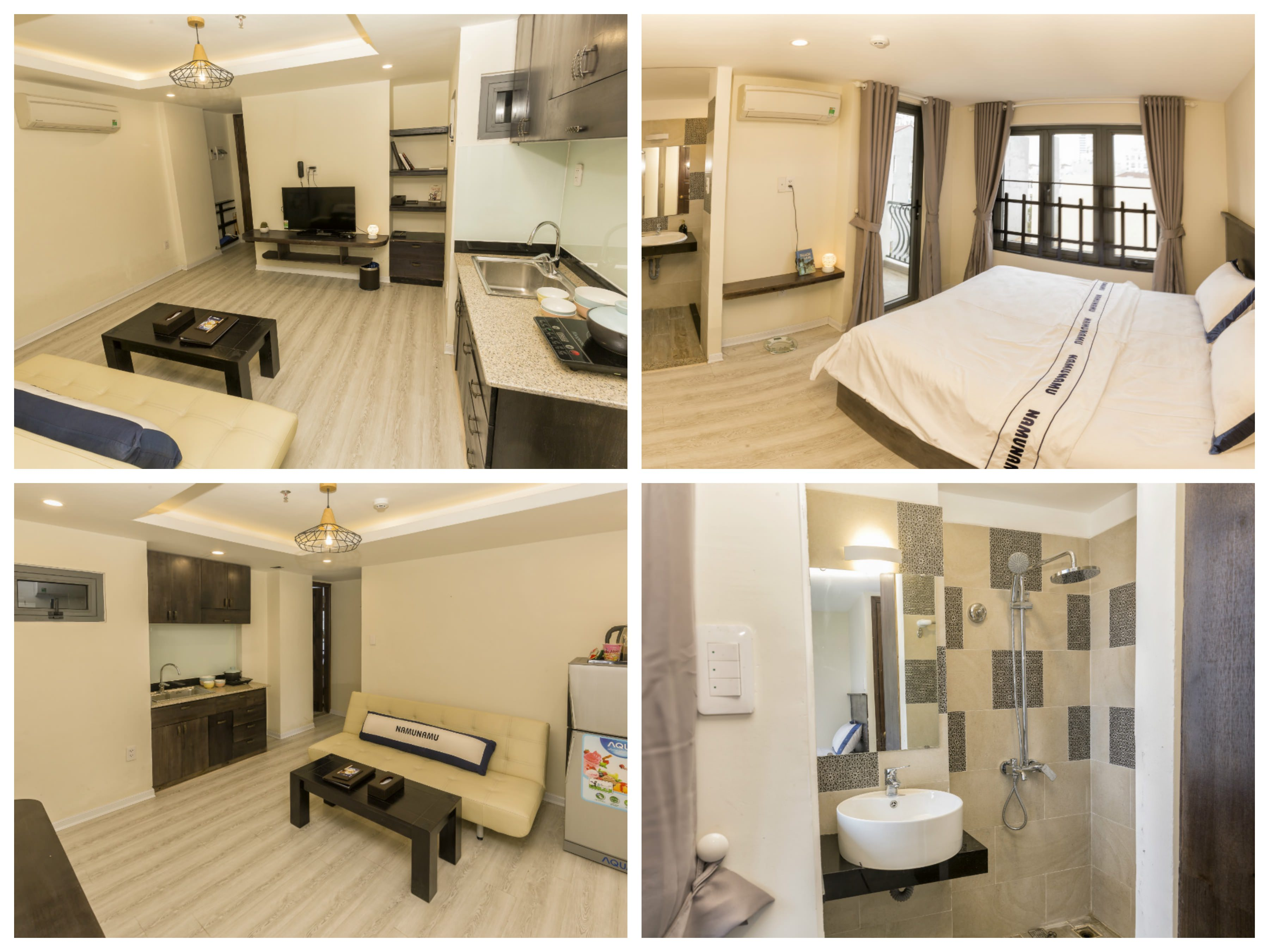 Luxury apartments with swimming pool on Le Quang Dao street