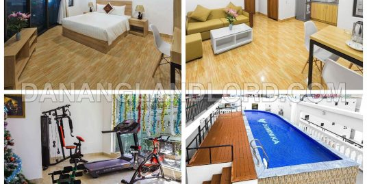Luxury 2 bedroom apartment for rent near My Khe Beach