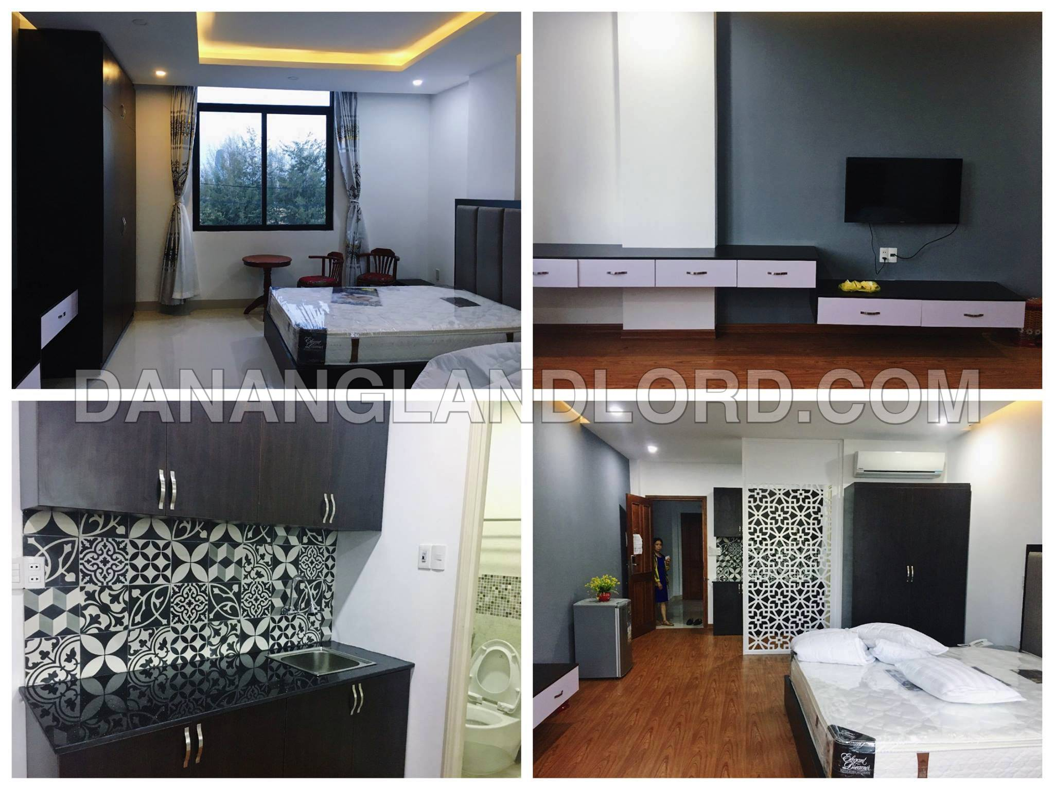 lovely studio apartment with 1 bedroom close to pham van dong street da nang landlord. Black Bedroom Furniture Sets. Home Design Ideas