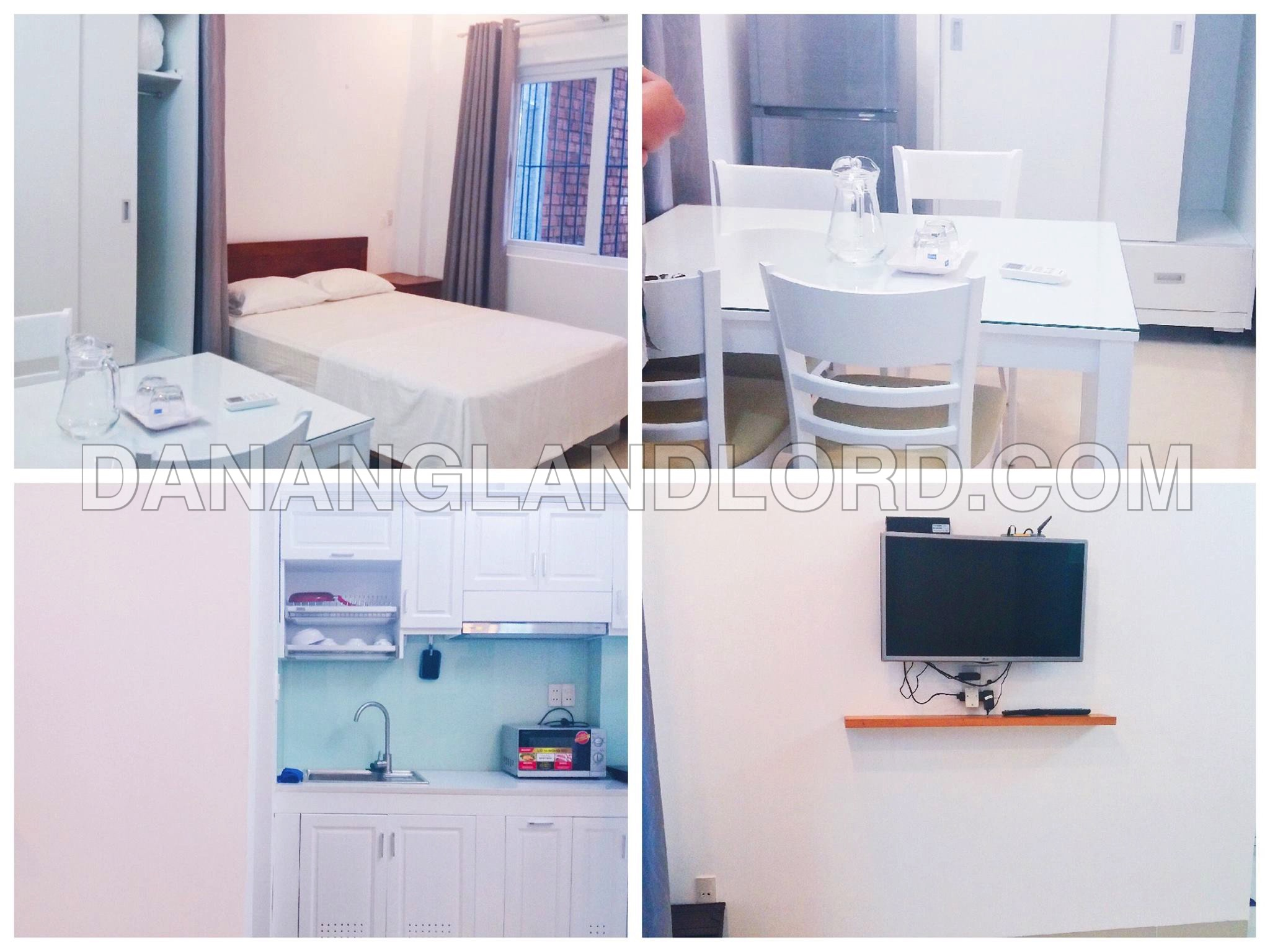 Studio apartment in An Thuong area – HALF