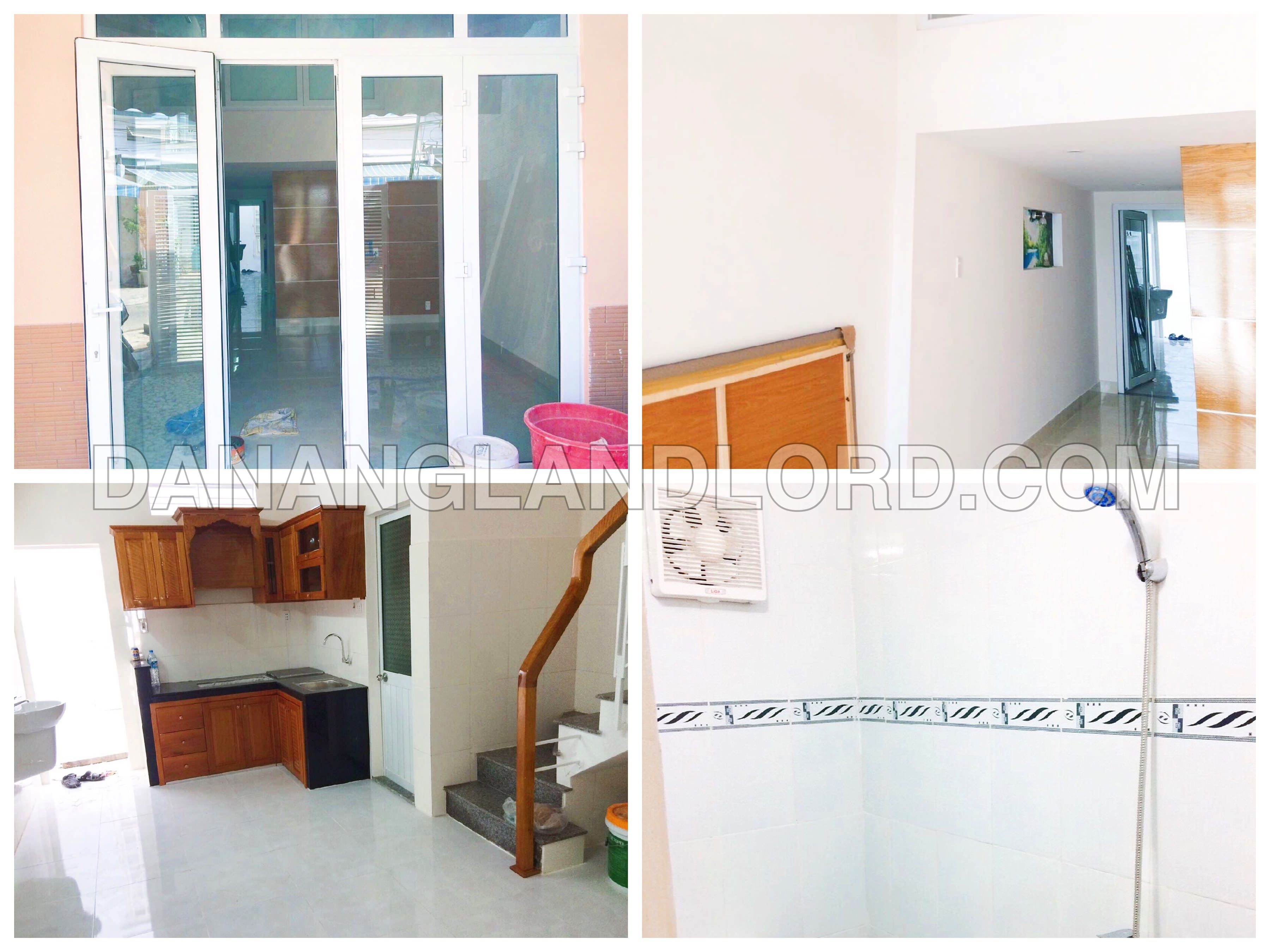 A new bungalow with 2 bedrooms in Pham Van Dong beach