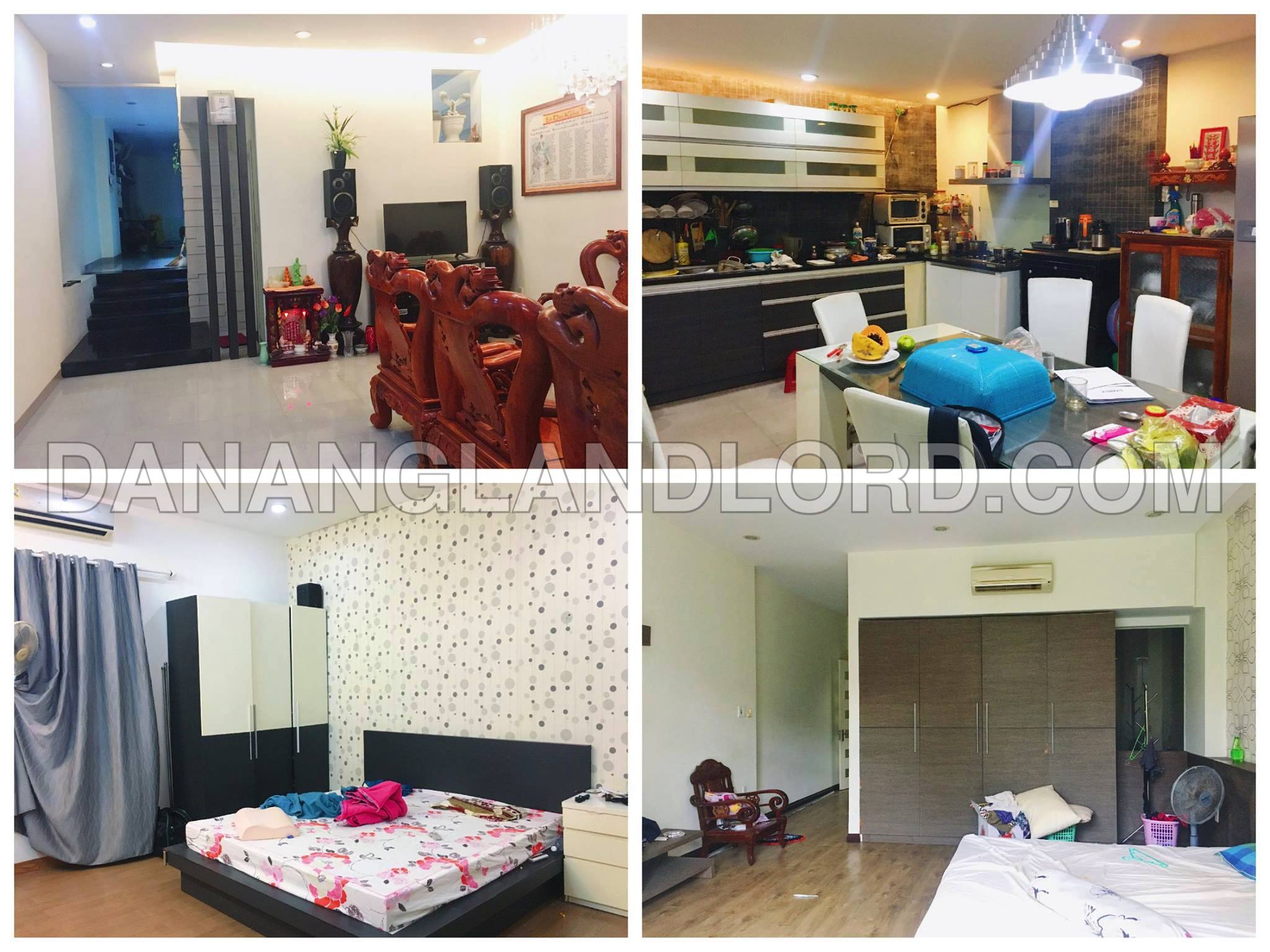 The 3 floor house with 5 bedrooms close to Pham Van Dong street