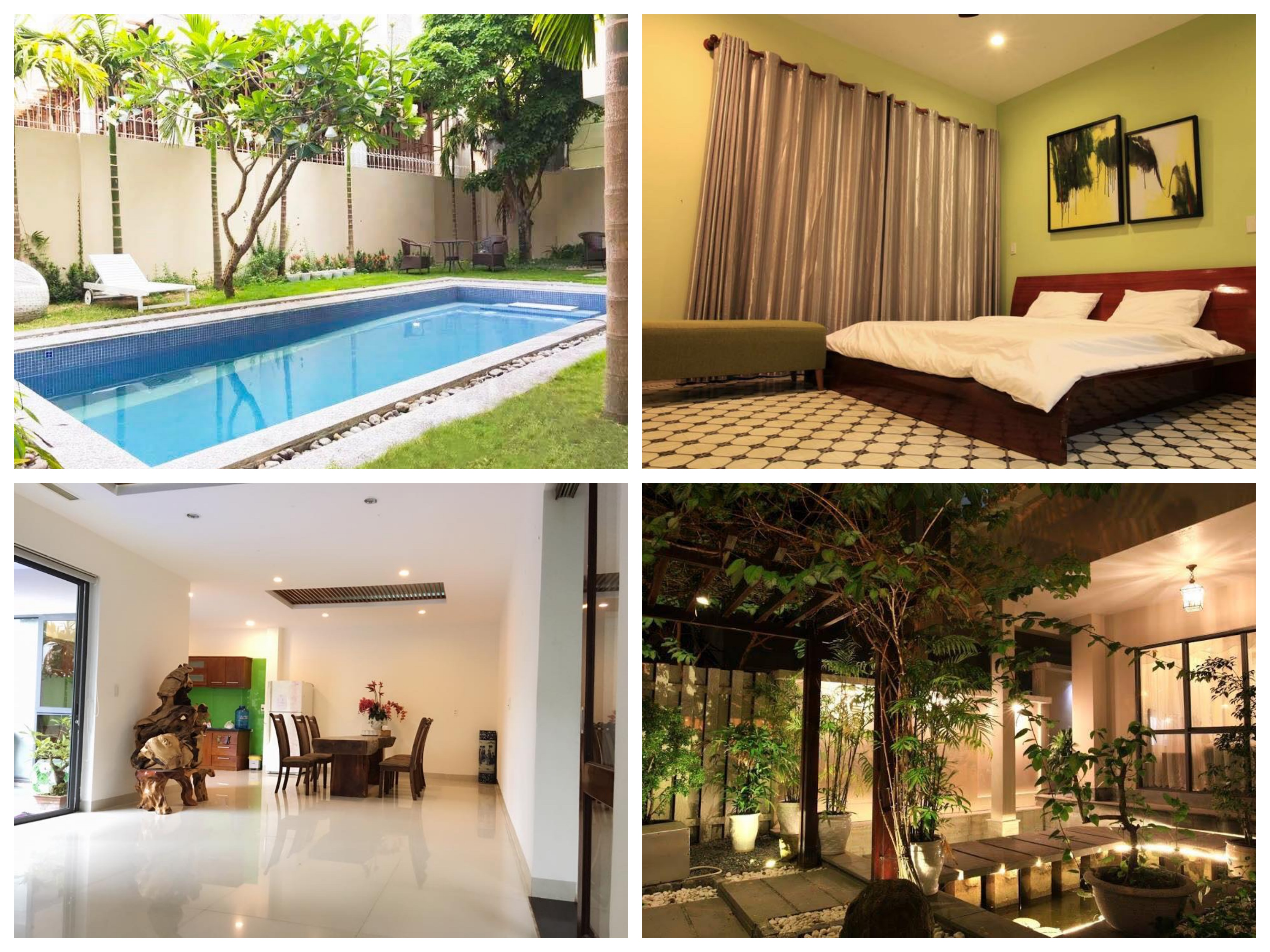 The beautiful 5 bedroom villa with a swimming pool in An Thuong area