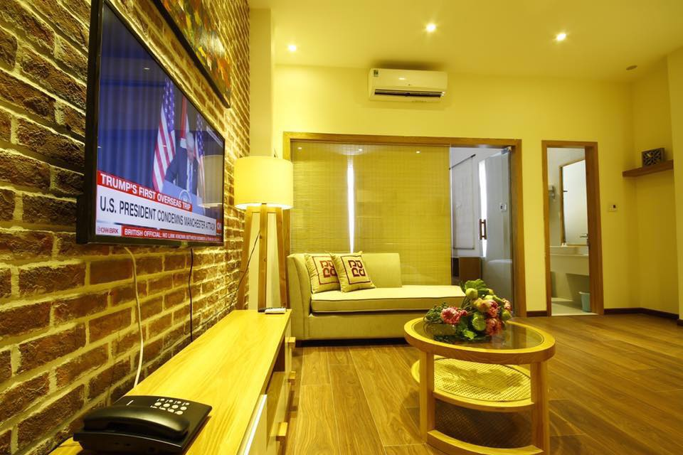 1 bedroom apartment for rent in An Thuong area, impressive space