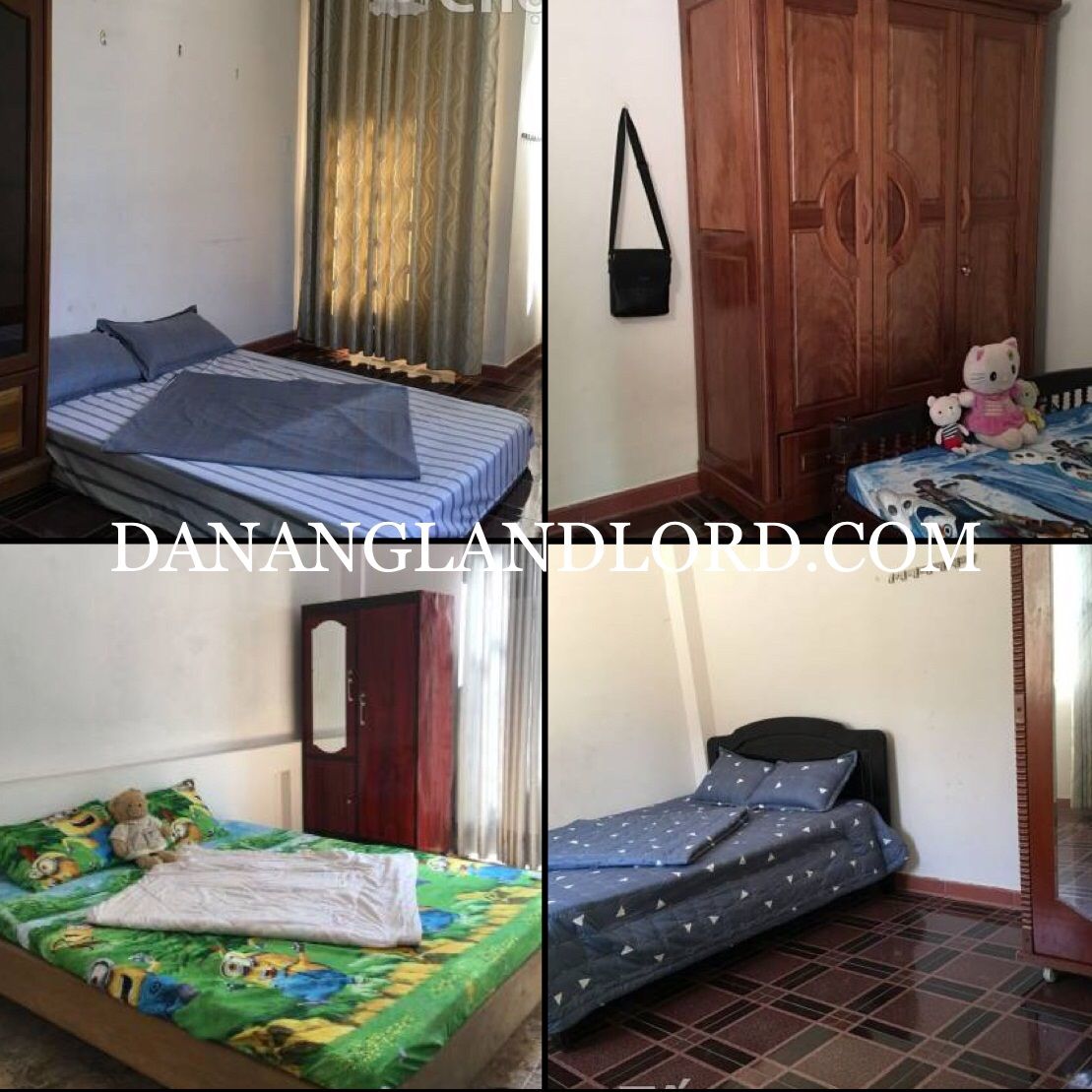 4 bedrooms house for rent, near Pham Van Dong beach, fully equipped –  DI4V