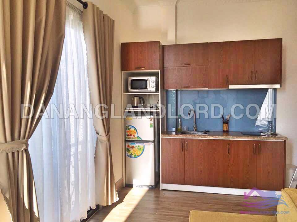 Modern one bedroom apartment with balcony close to Bach Dang street – 63DH