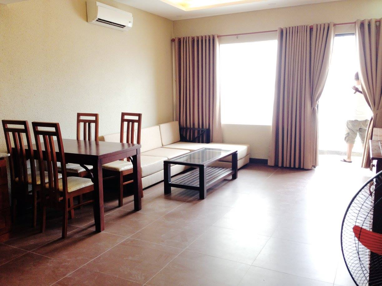 One Bedroom Apartment With A Large Yard Near Beach In An Thuong Area.