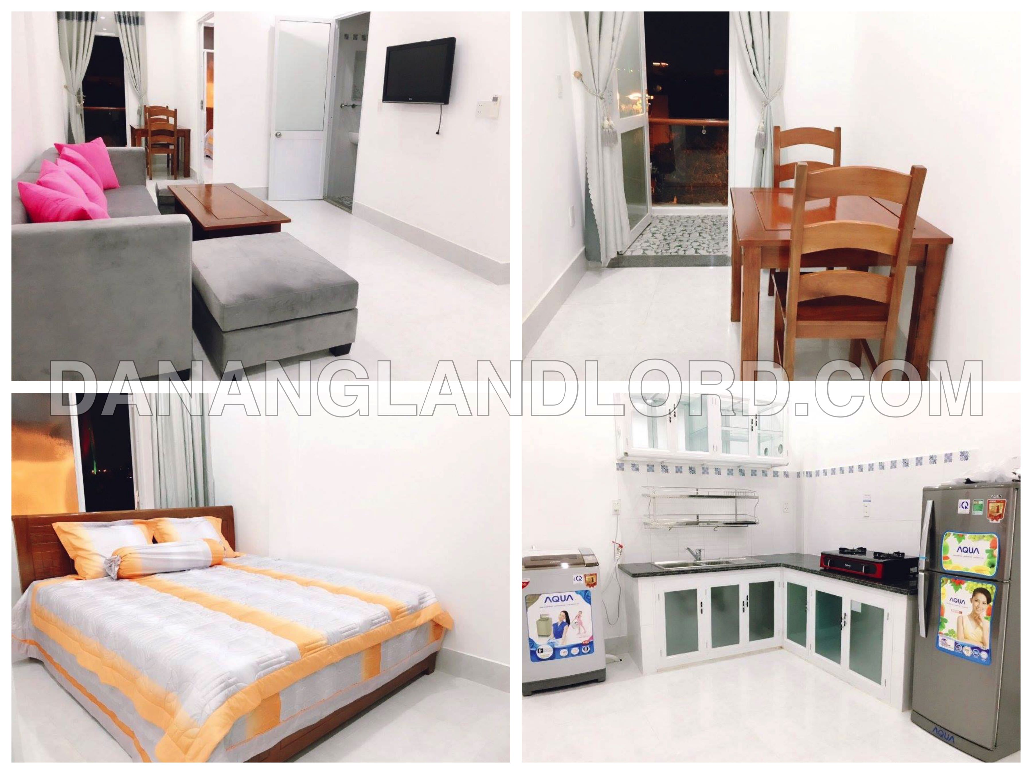 Green view 1 bedroom apartment near Tran Thi Ly bridge