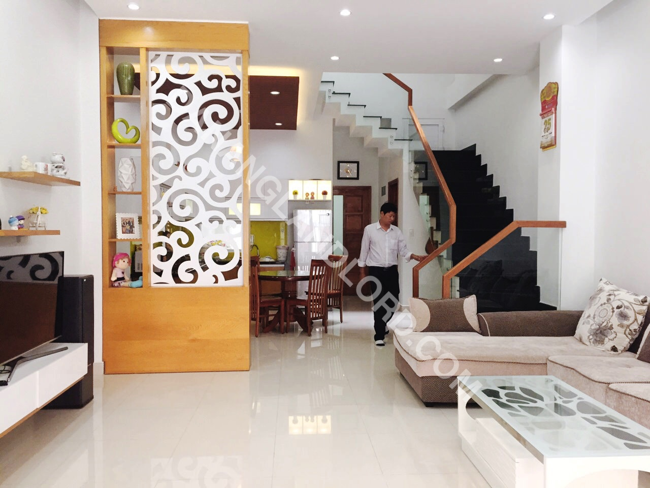 A Light And Airy House For Rent Near Pham Van Dong Beach