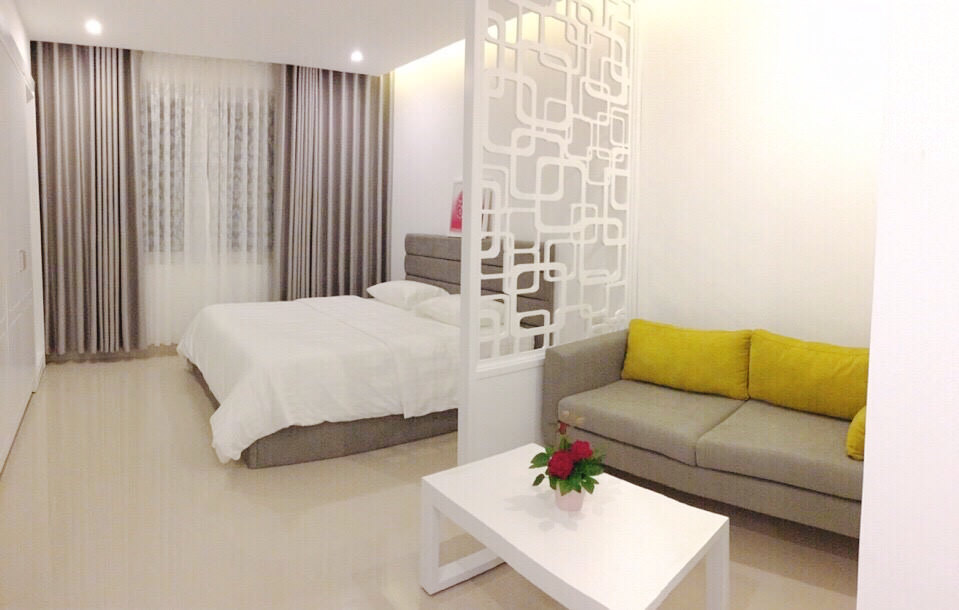 Studio apartment near Pham Van Dong, extremely airy, 35m2
