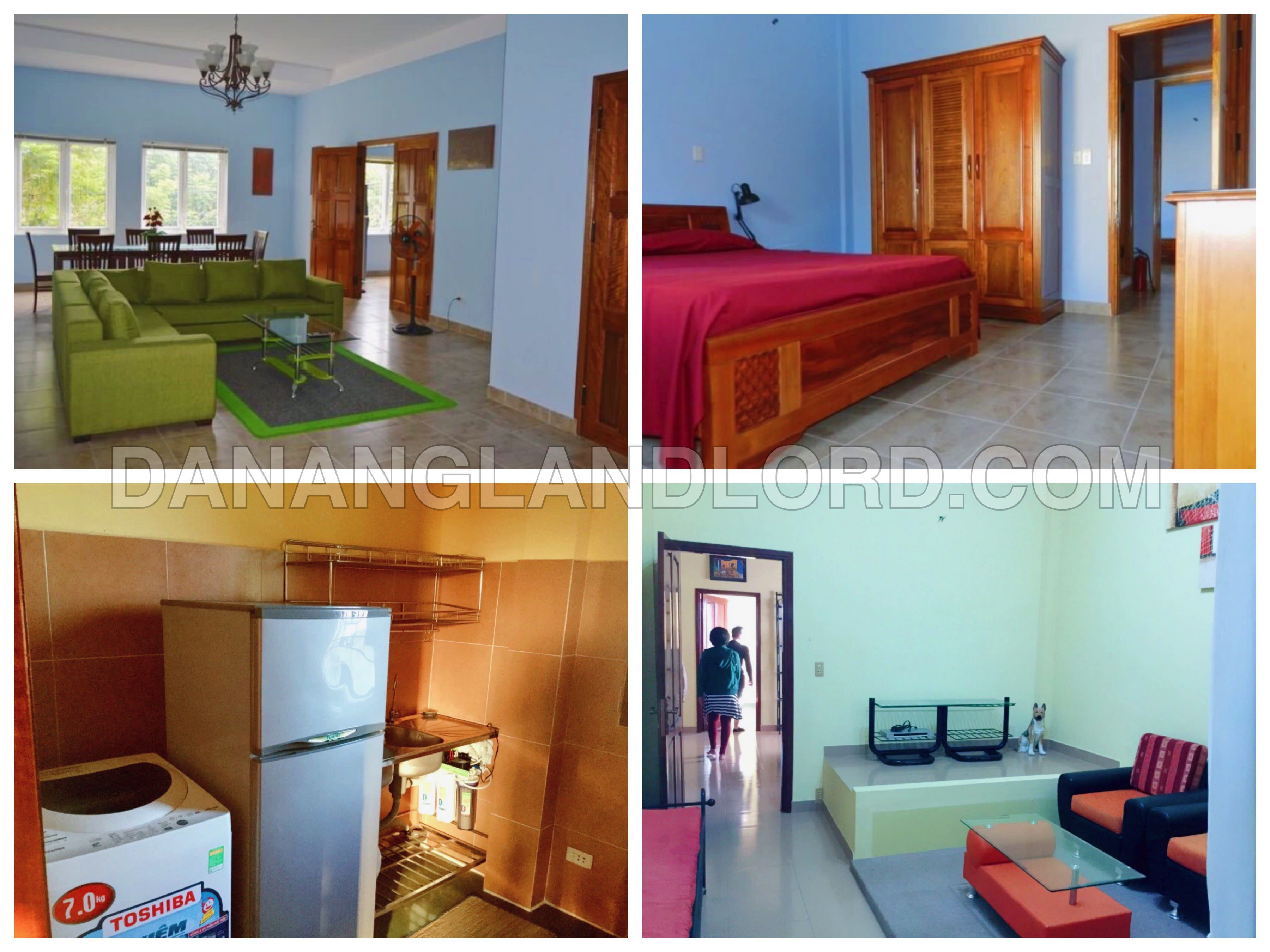 The 4 bedroom apartment, fully furnished close to Vincom center
