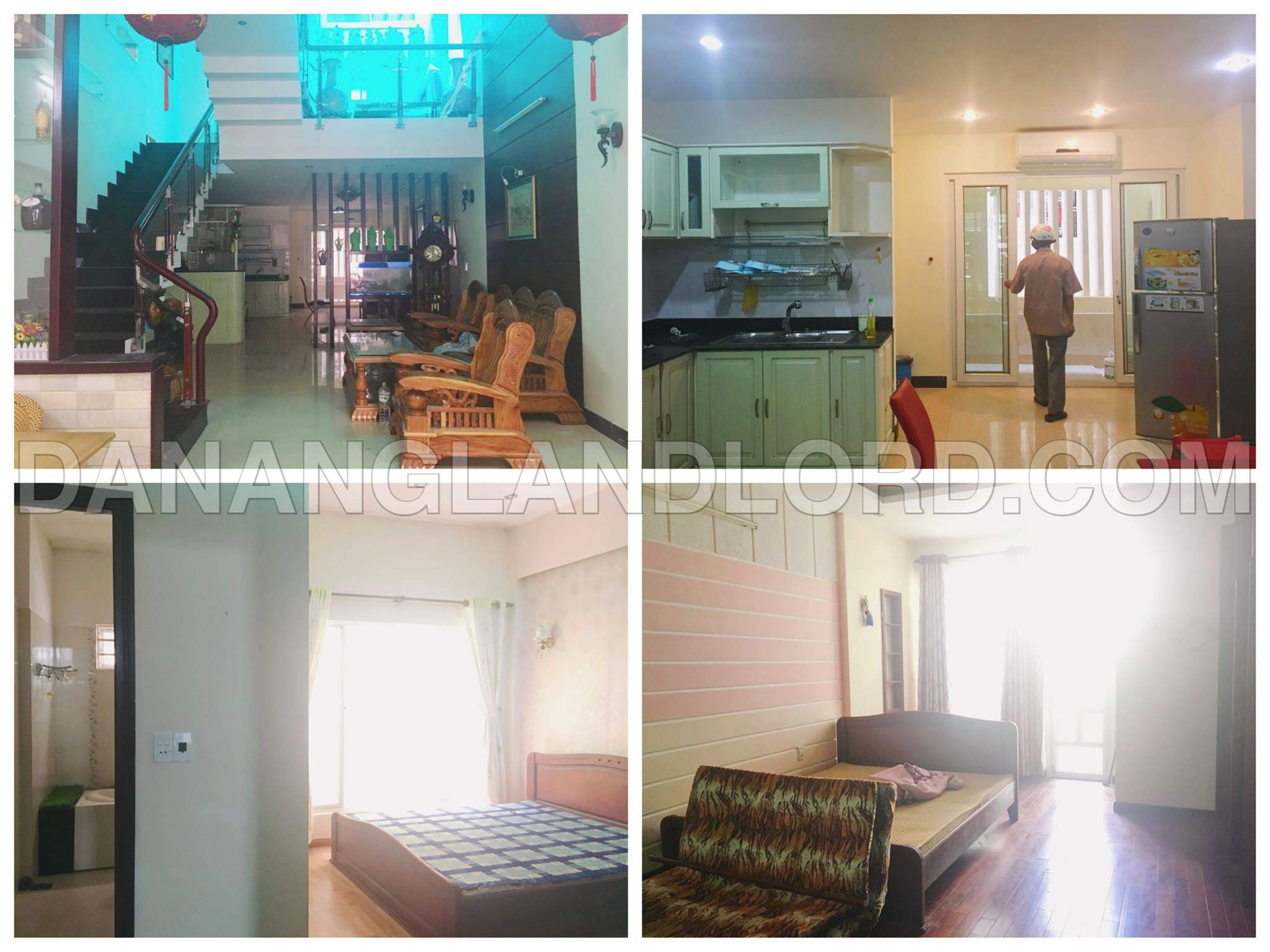 The modern house with 4 bedrooms in Pham Van Dong area