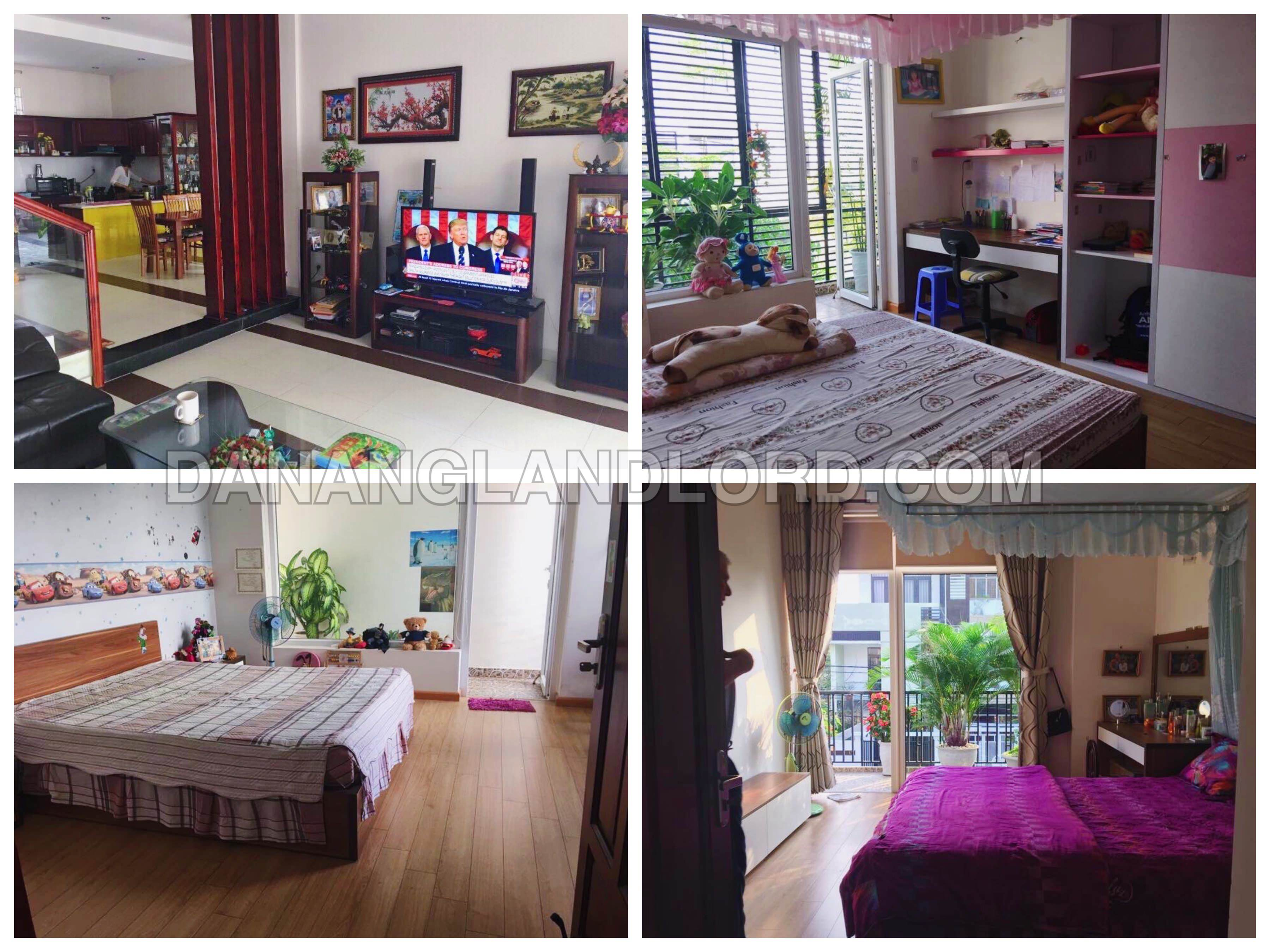 The beautiful house with three bedrooms in Ha Huy Tap area – B318