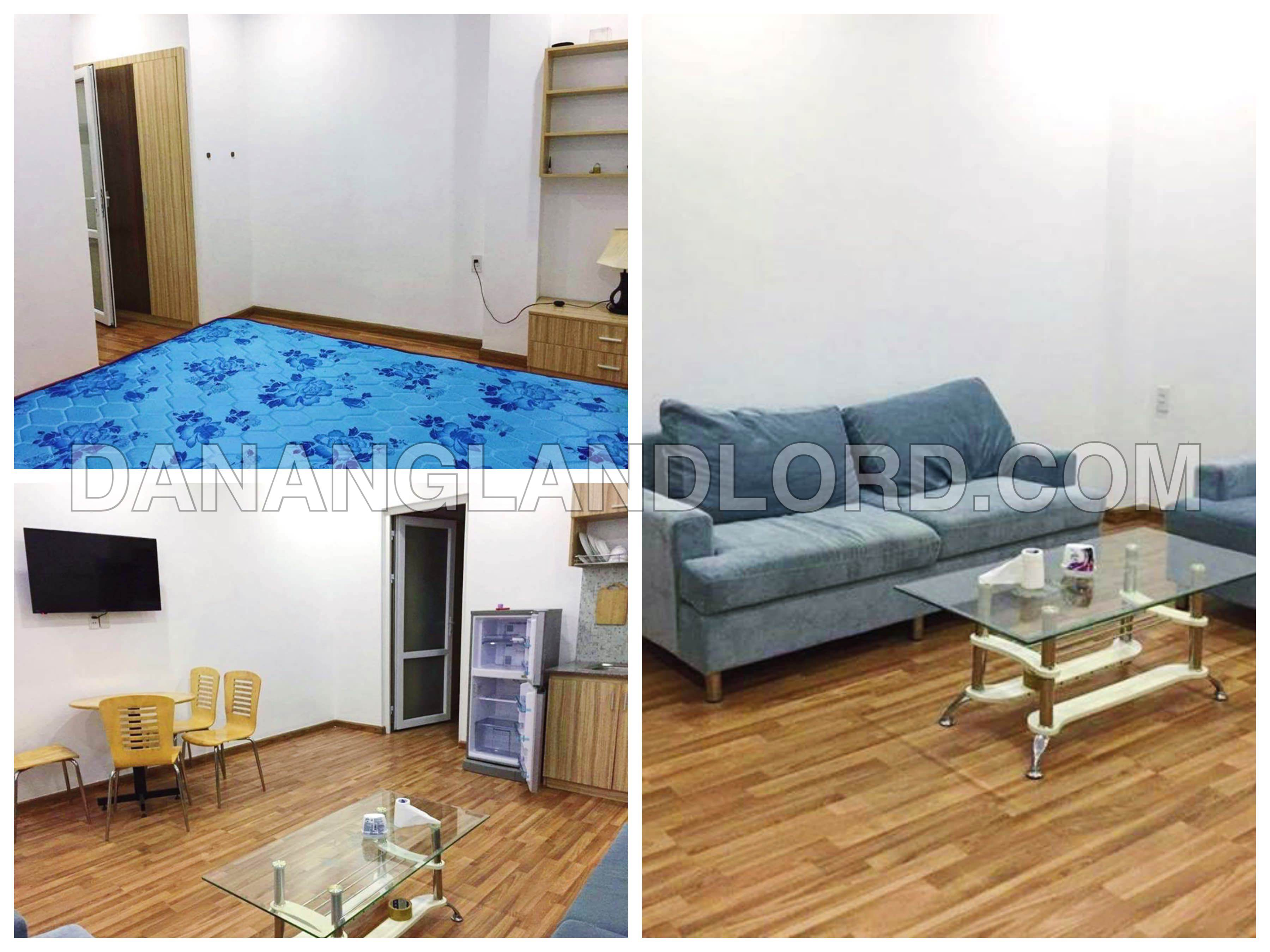 The nice apartment with full furnitures in the central of Da Nang city