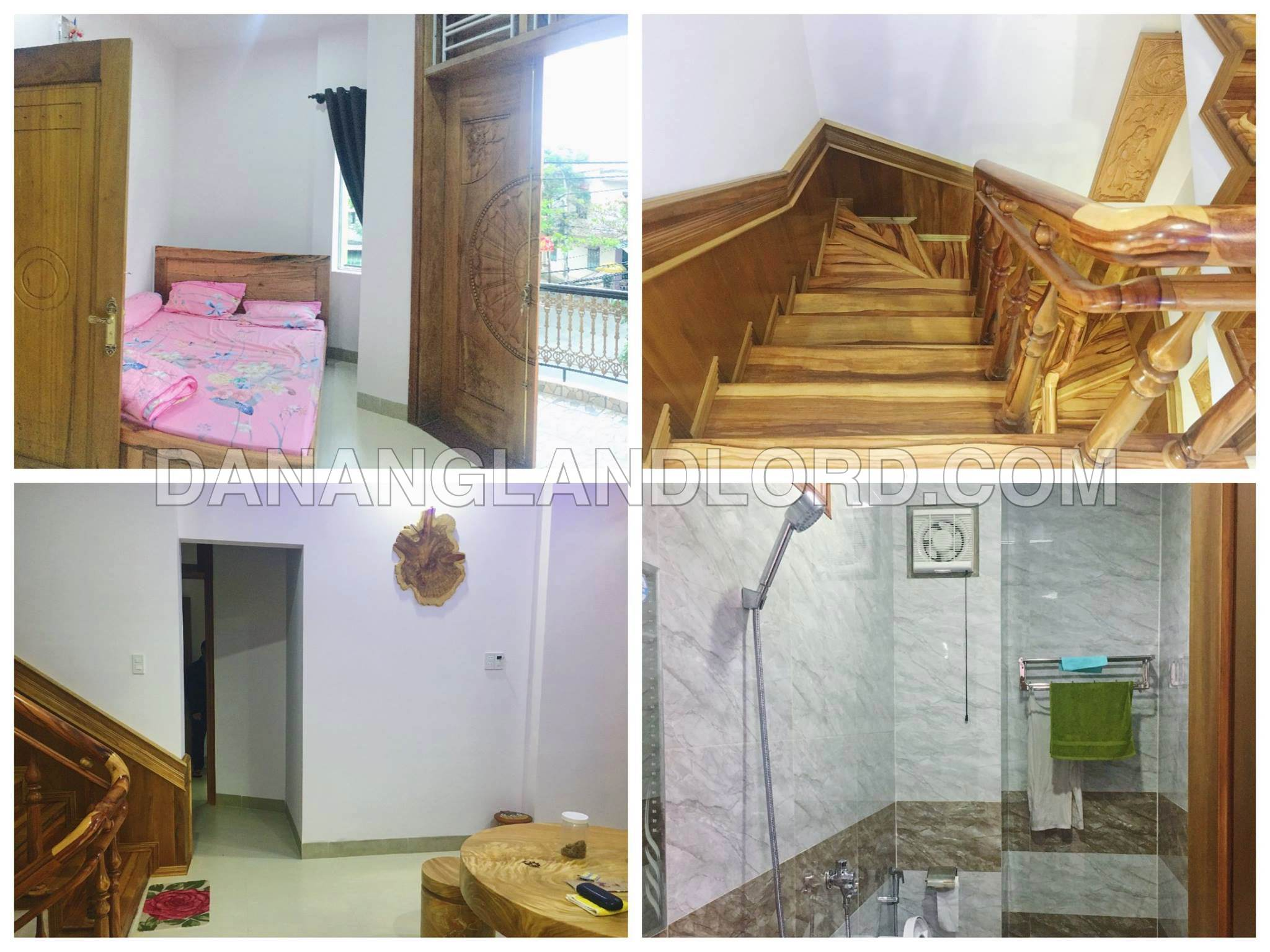 The luxury house with 7 bedrooms in An Thuong area