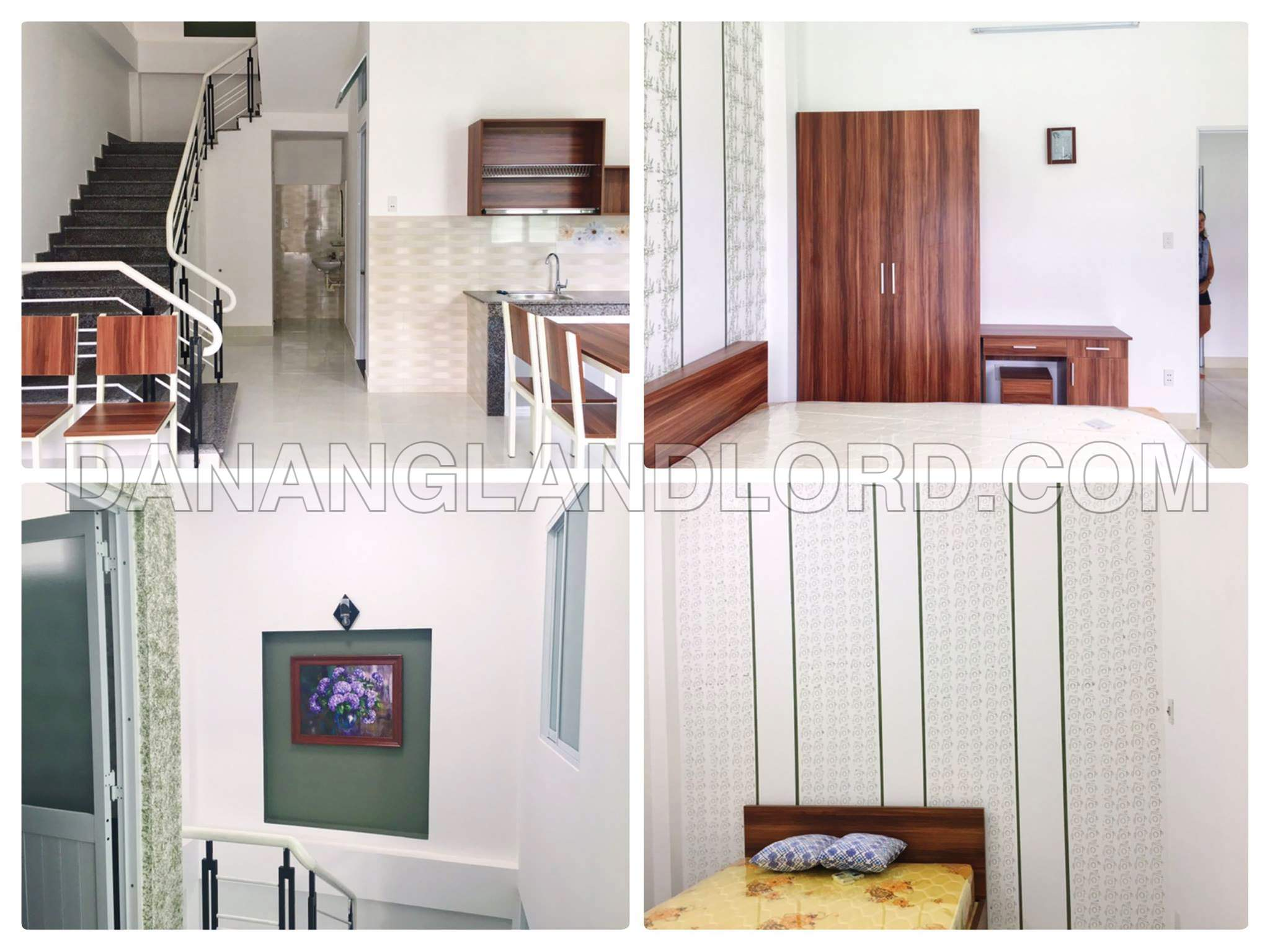 The brand new house with two floors in Ngu Hanh Son alley