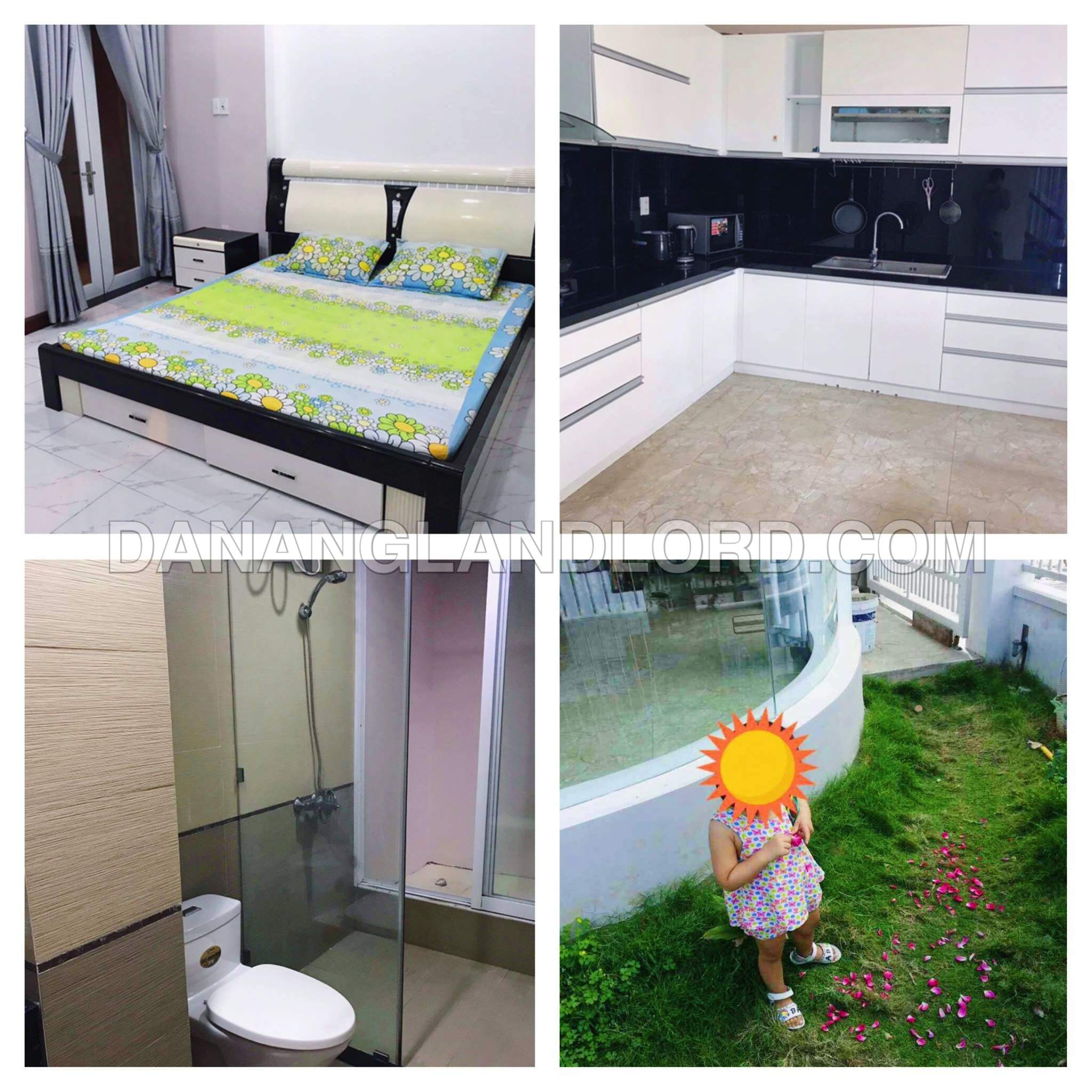 The three bedroom house with garden in Man Thai, Son Tra