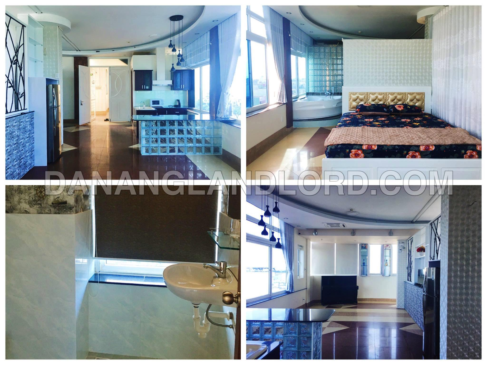 The luxury 2 bedroom apartment in Hai Chau district