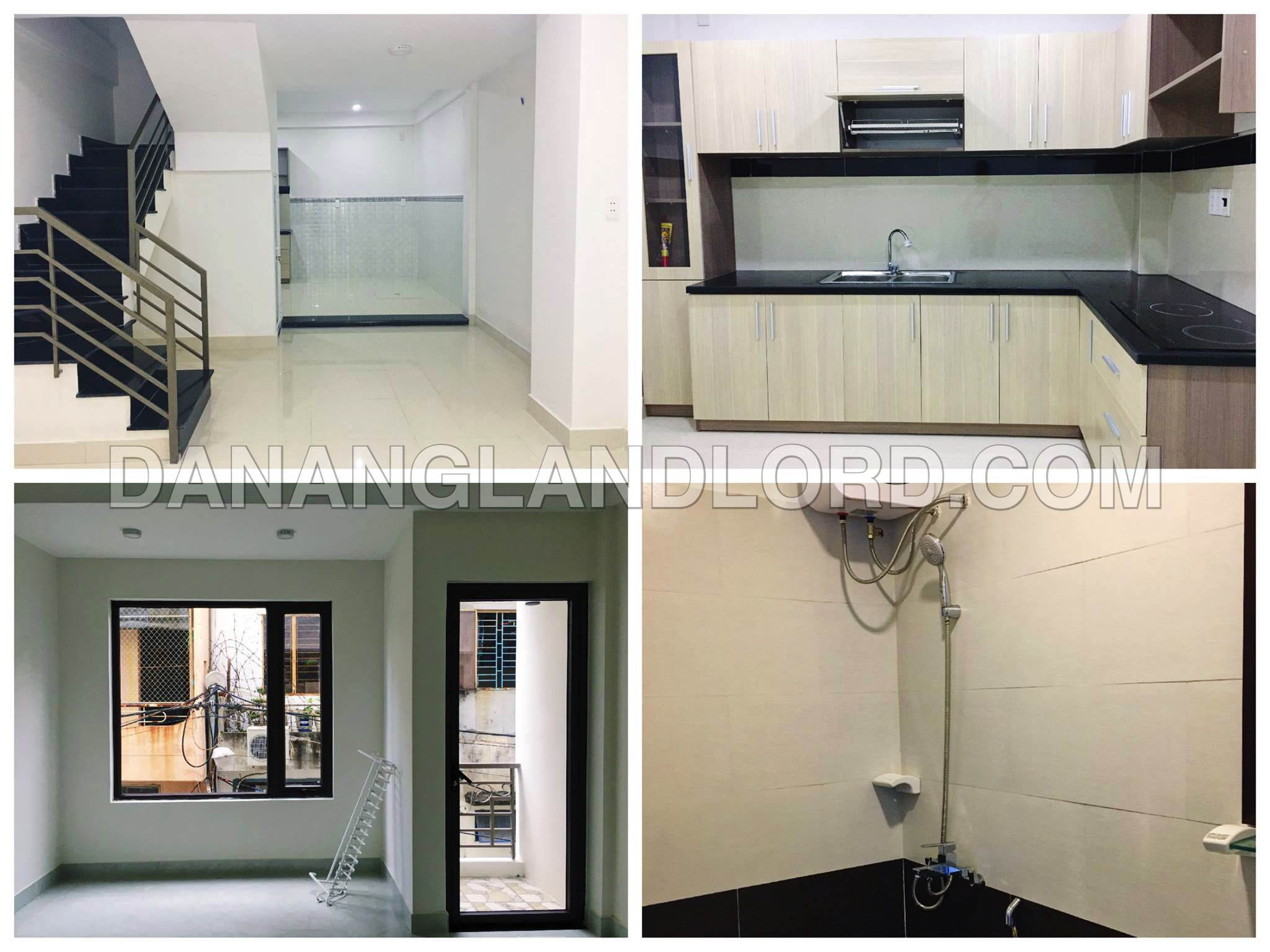 The new house with 4 bedrooms on Le Dinh Ly alley