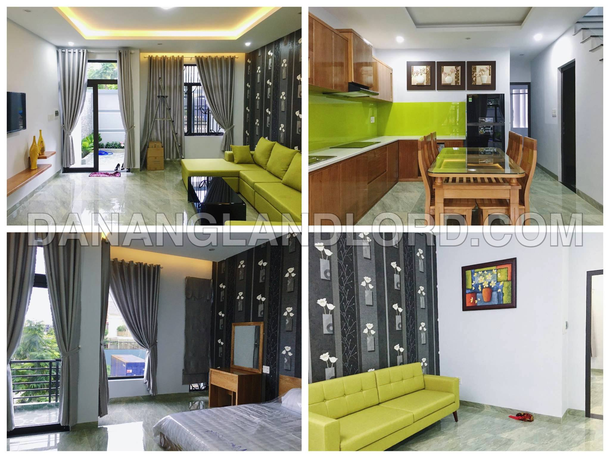 Brand new house with 3 bedrooms in Ngu Hanh Son area