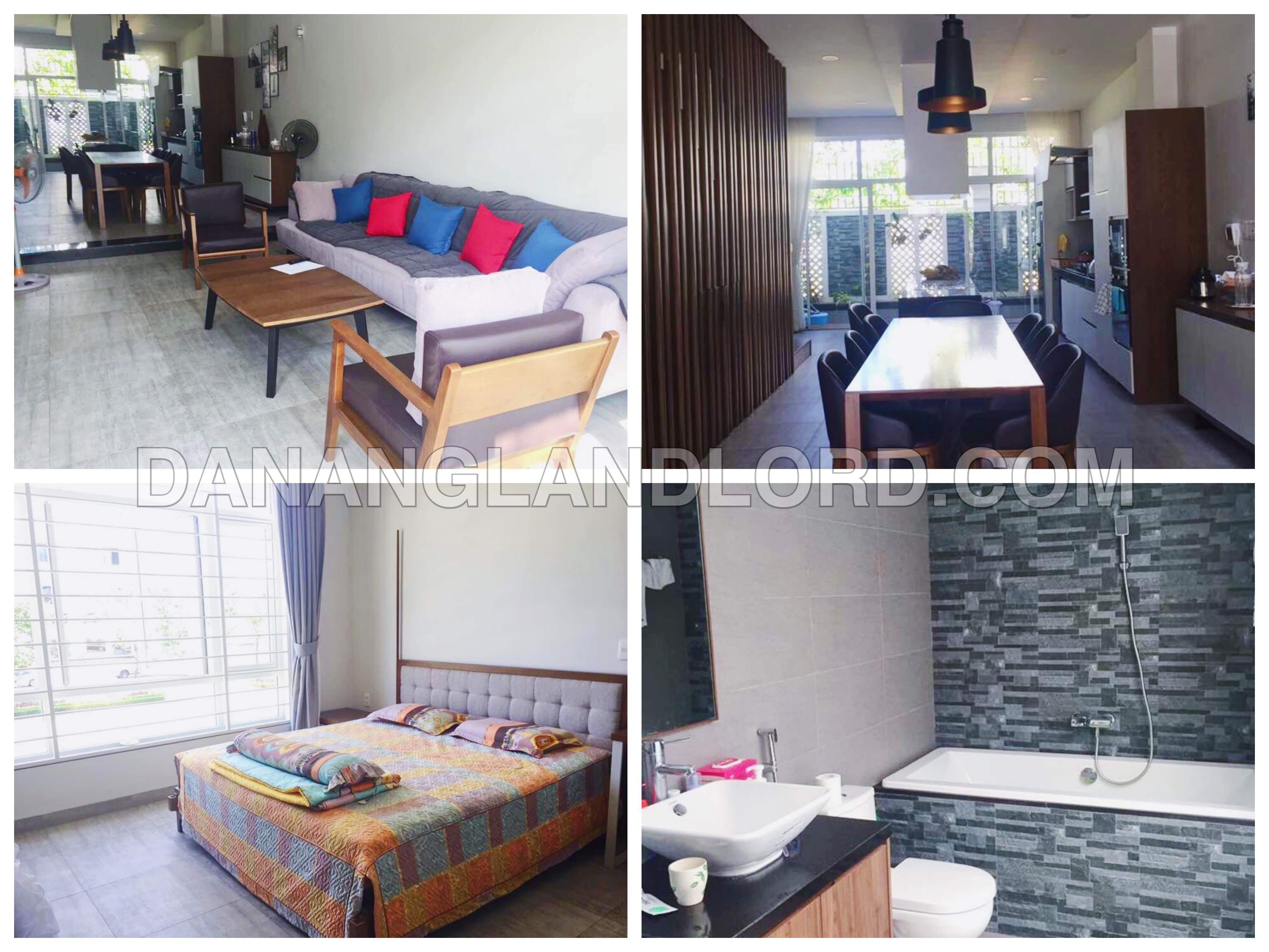 3 bedroom house for rent in Euro Village Da Nang