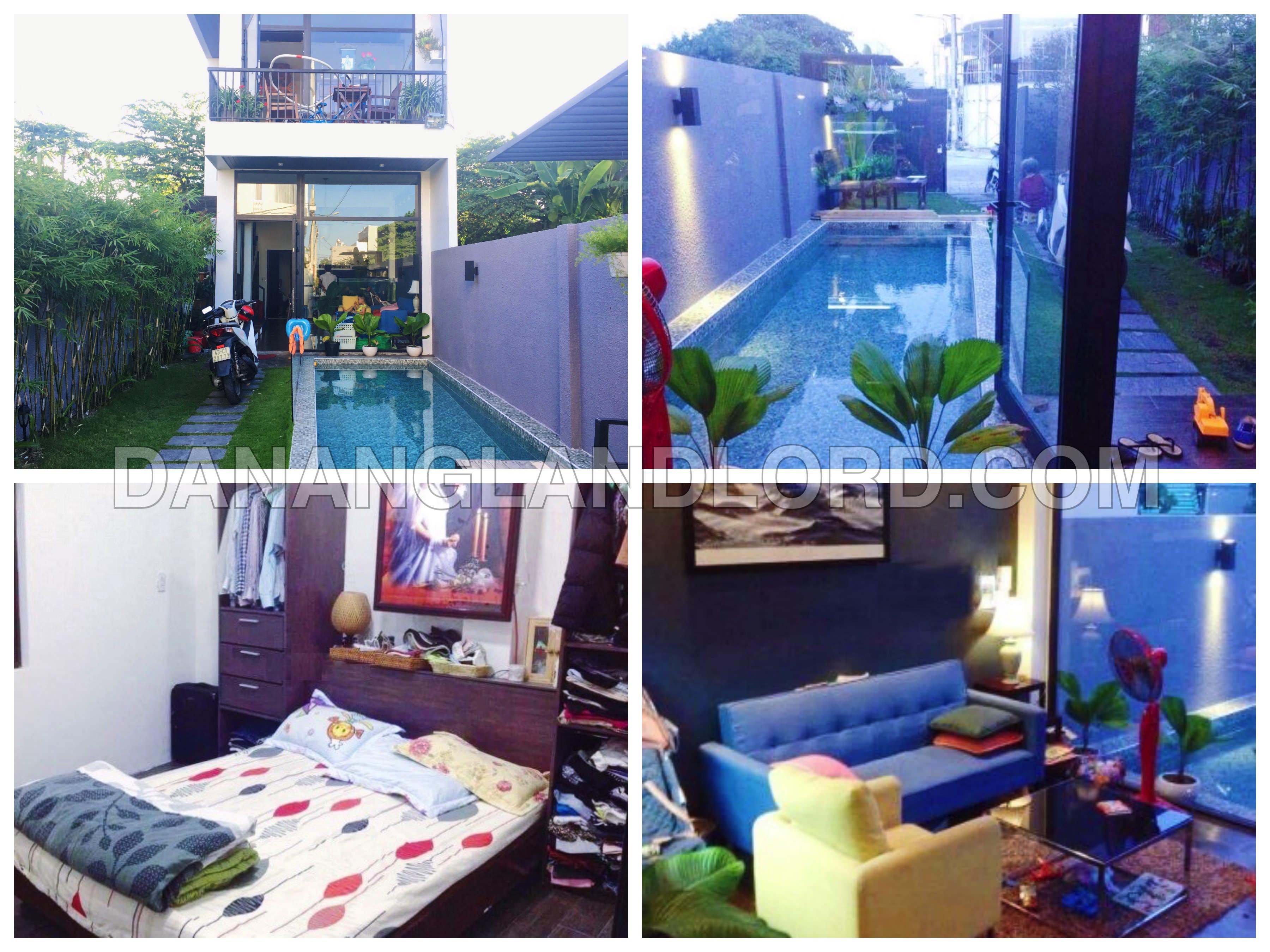 A mini villa with 3 bedrooms in Pham Van Dong beach
