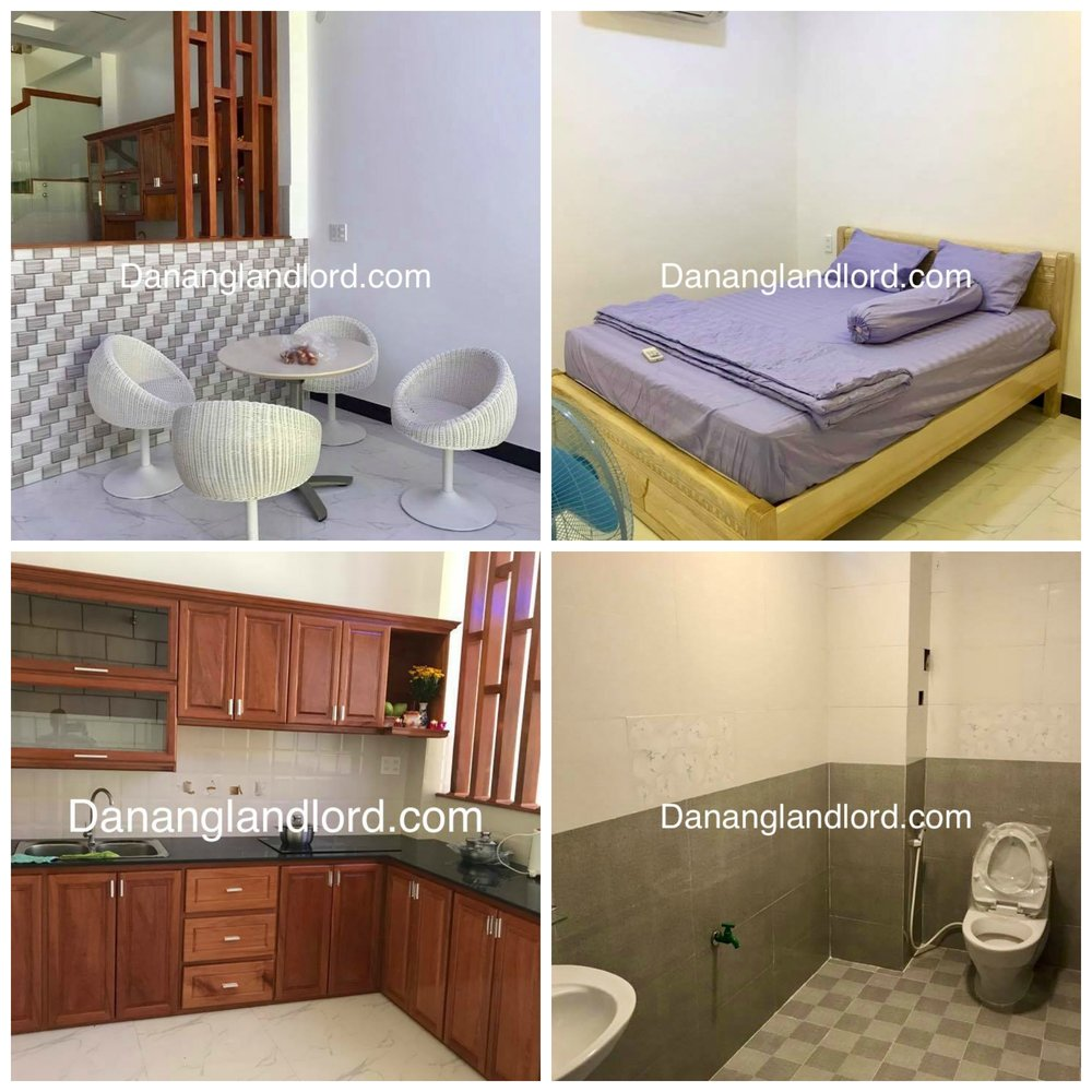 The beautiful house with 3 bedrooms in An Hai Bac area