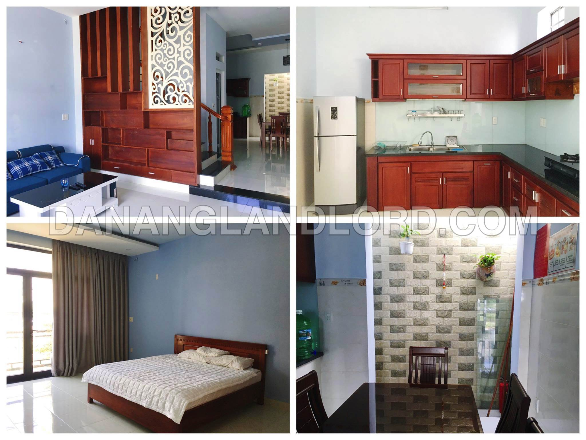 The 4 bedroom house in An Thuong area, 300m from the beach