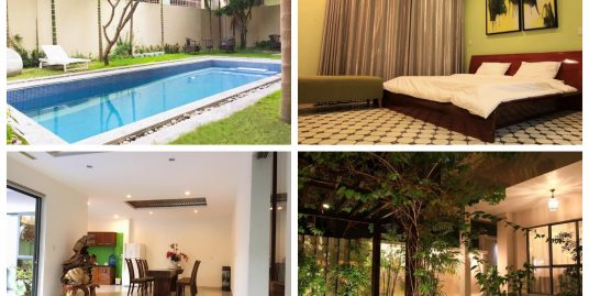 The beautiful 5 bedroom villa with a swimming pool in An Thuong area – C4UC