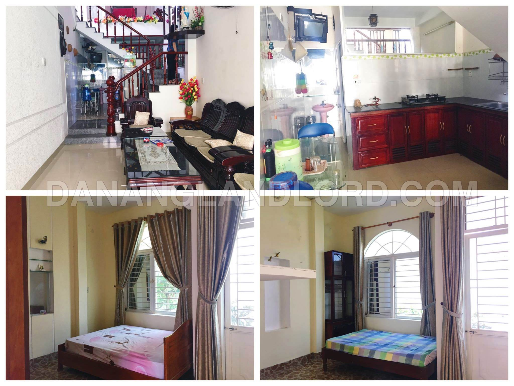 House with 4 bedrooms near Phan Tu Street – B179