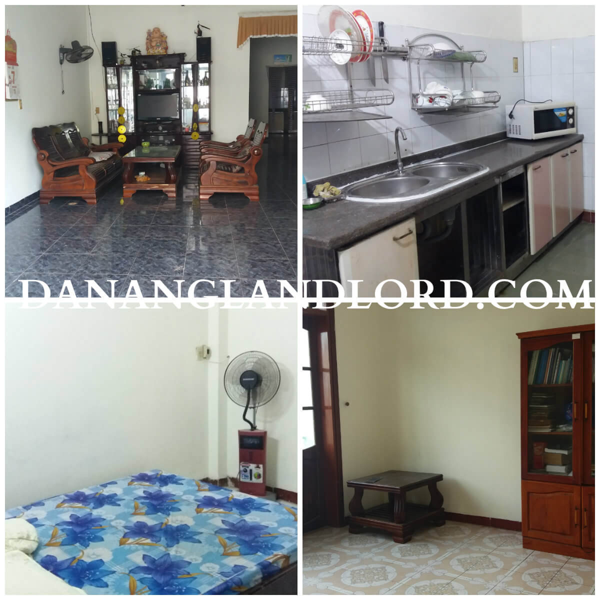3 bedroom house for rent close to My Khe beach  – NHDU