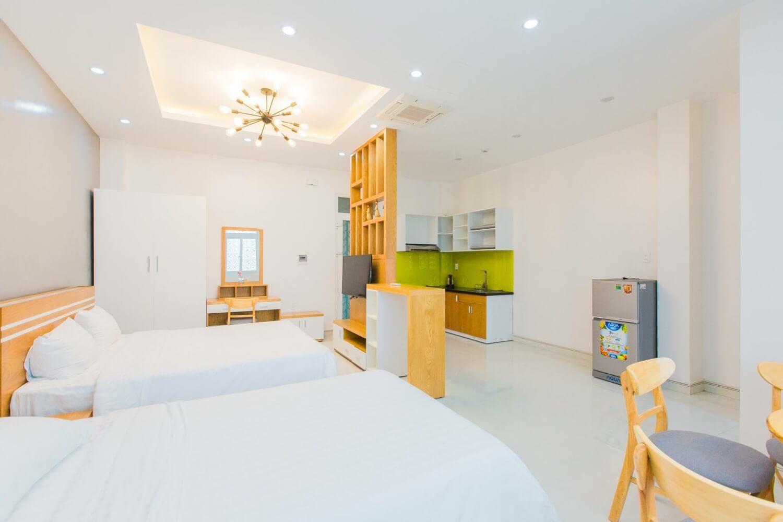 2 bed studio apartment near My An Beach – KMD5