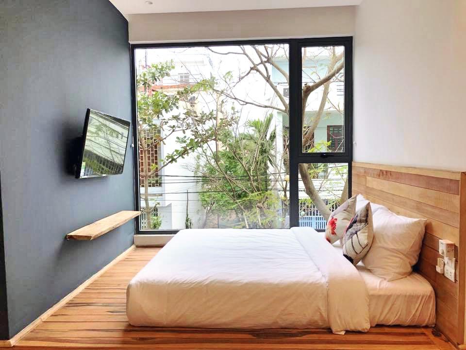 Studio apartment with balcony near the beach – A274