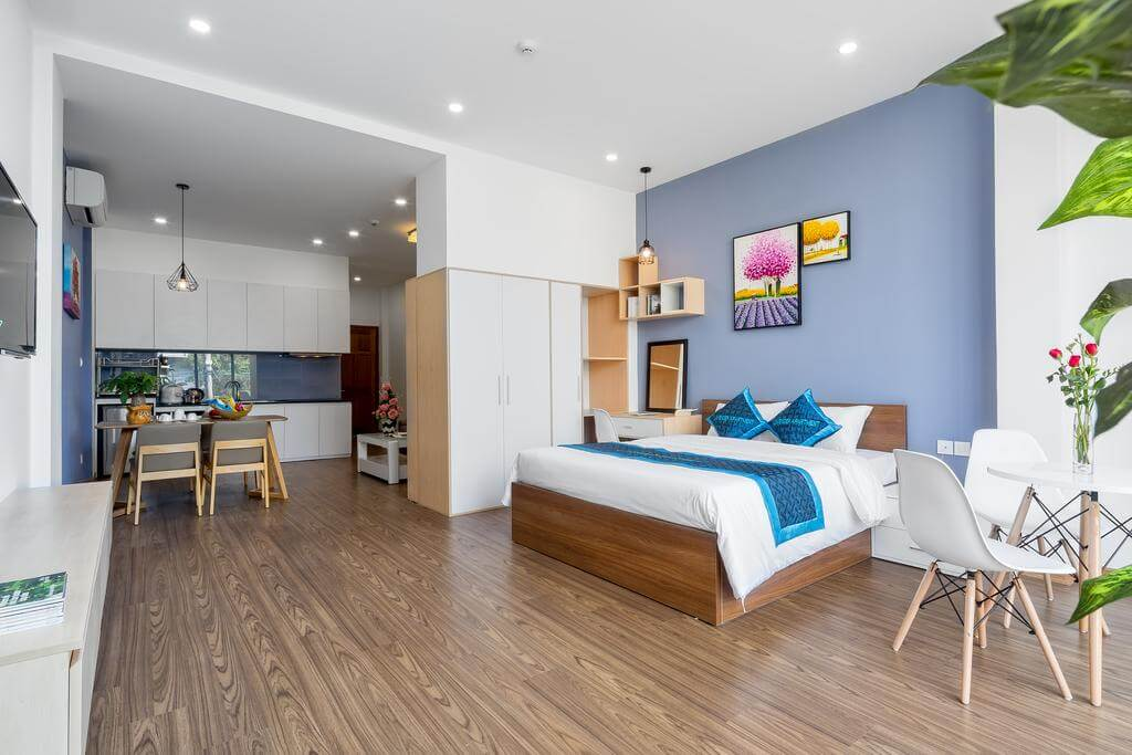 Studio apartment in the city center – AC22