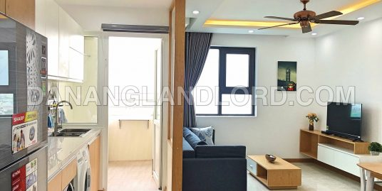 1Br apartment with city view in Muong Thanh building – A188