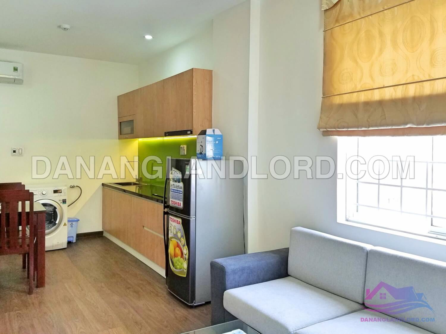 Nice apartment with 1 bedroom near Tran Thi Ly Bridge – CK22