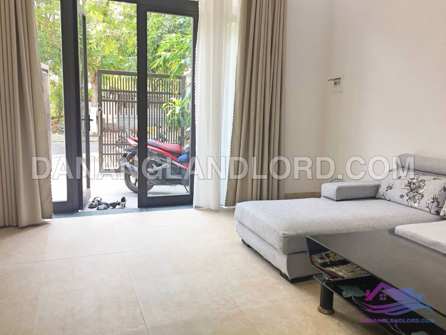 The house with 2 bedrooms close to Tran Thi Ly – 1002