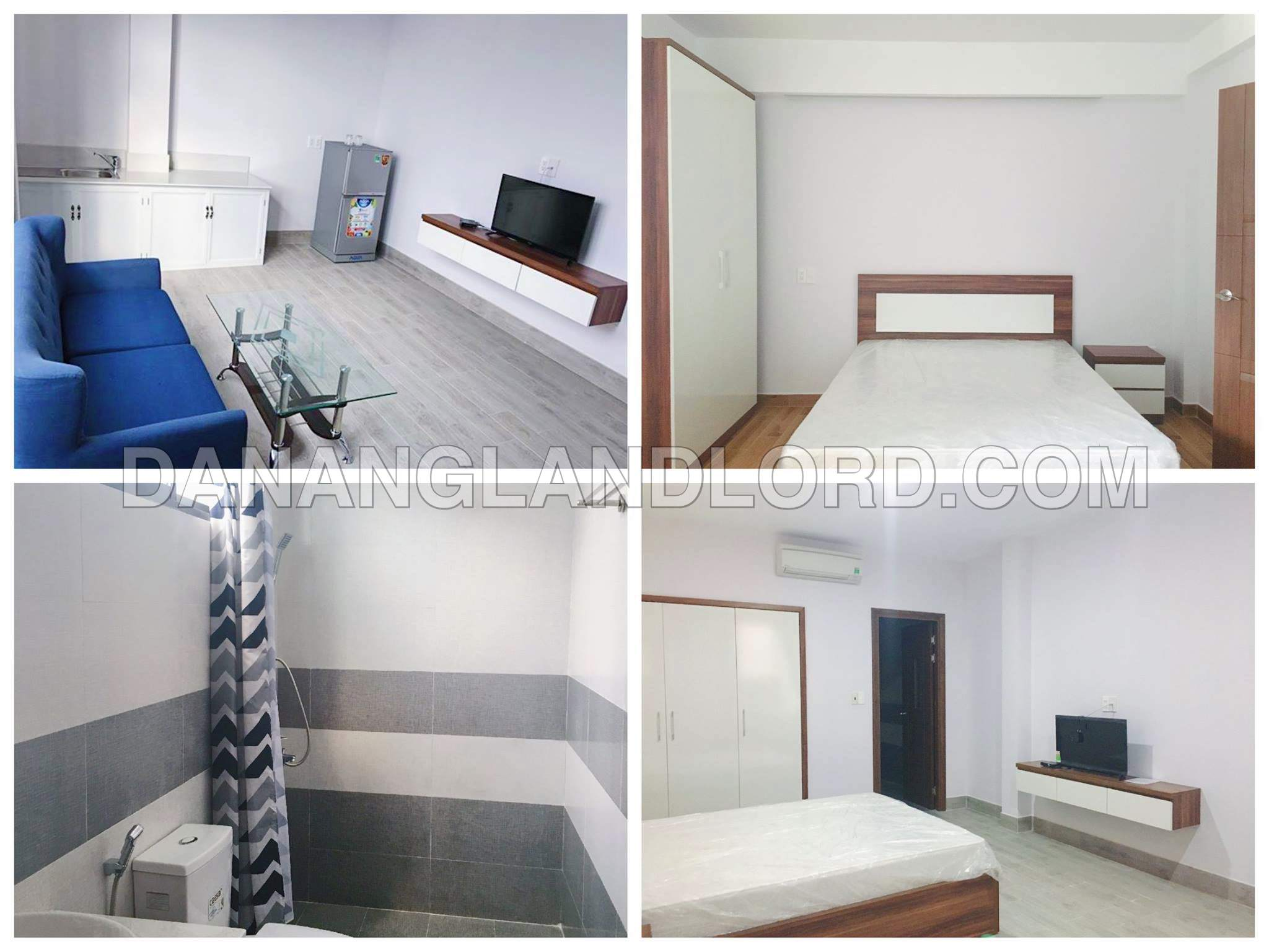 2 bedrooms apartment, An Thuong, 500m to My Khe beach – A471