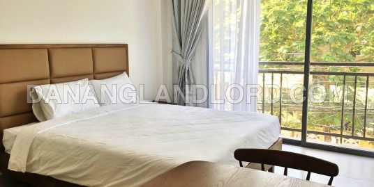 Studio apartment with balcony for rent in An Thuong – 1117