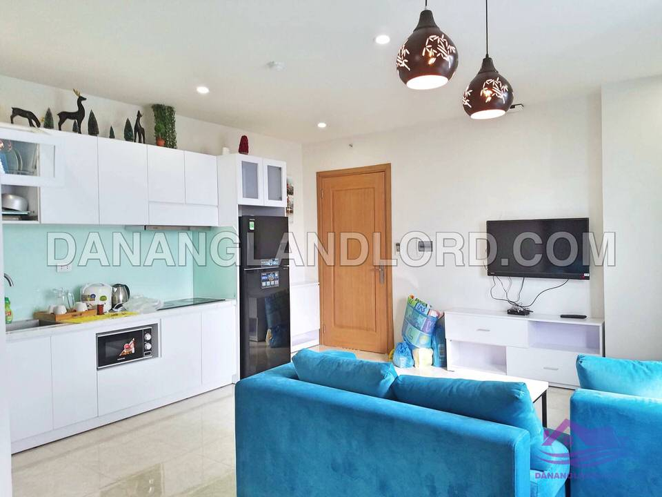 One bedroom apartment with city view in Muong Thanh building – A161