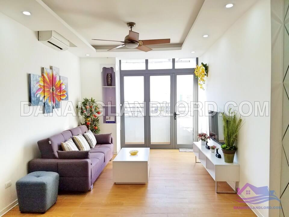 Two bedrooms apartment with sea view in Muong Thanh building – C027