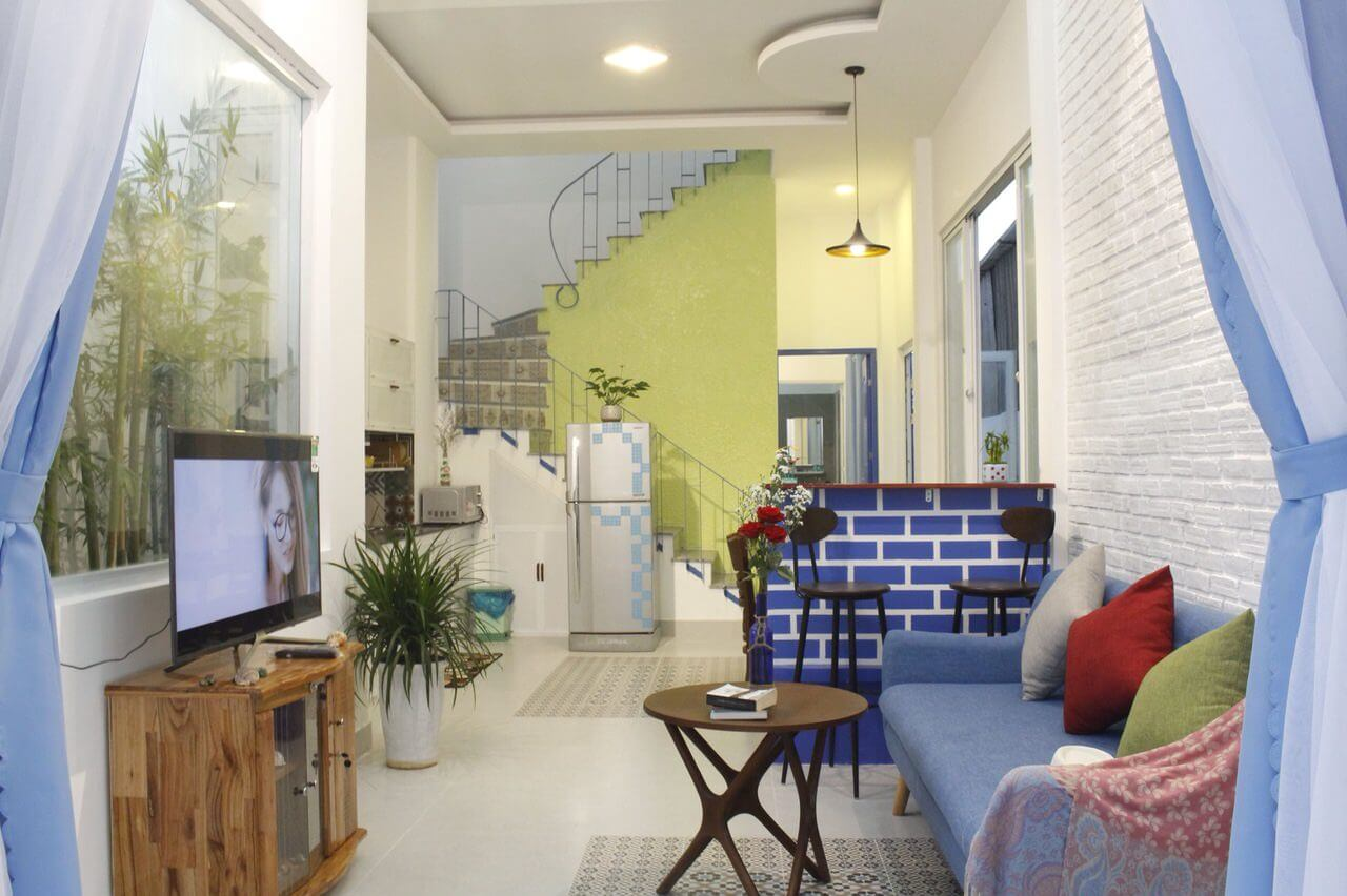 The beautiful house with 3 bedrooms close to Tan Tra beach – 1060