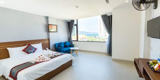 Sea view studio apartment in Pham Van Dong area – A206