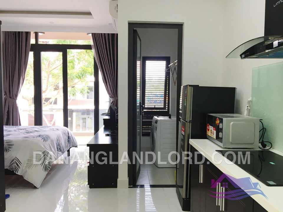 Airy studio apartment in My An Area – A126
