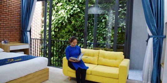 Modern studio apartment near Vo Van Kiet street – A209
